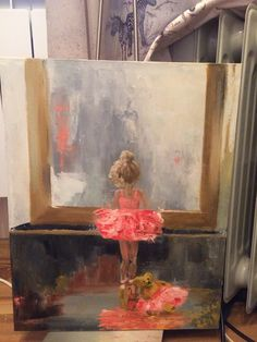 Ballerina Silhouette, Painting, Art, Art Background, Painting Art, Kunst, Paintings, Performing Arts, Painted Canvas