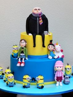 Despicable Me Cakes - Top Cakes - Cake Central