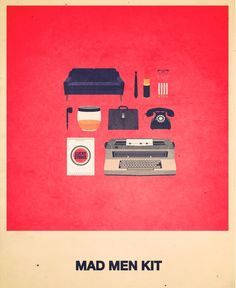 La française Alizée Lafon nous propose sa dernière série d'illustrations graphiques : « Movie Hipster Kit ». Elle illustre quelques uns des films les plus cultes comme Pulp Fiction en stylisant des objects directement identifiables à ceux-ci. Un travail ludique et visuellement très réussi à découvrir dans la suite.