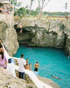 This is probably my dumbest move traveling - jumping off a 35-foot cliff at Rick's Cafe in Negril, Jamaica. Part of the problem is the height. The other problem is that jumpers come dangerous close to the cliff during the descent. In fact, some people have actually hit the wall. The entry wasn't pleasant, but I walked away without any injuries. - 2006