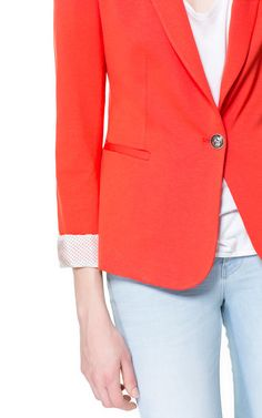 Zara, Fuchsia Blazer with Puffed Shoulders. I need you. | Future ...