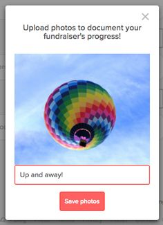 New Feature: Fundraiser Galleries