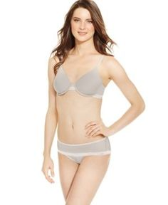 Dkny Mesh Light Wear Sheers Spacer Bra DK1001  - Tan/Beige 34D
