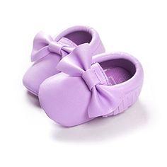 LIVEBOX Infant Baby Girls' Bow Mocassins Soft Sole Anti-Slip Tassels Prewalker Toddler Shoes (M: 6~12 months, Light Purple) LiveBox http://www.amazon.com/dp/B0191G1O6M/ref=cm_sw_r_pi_dp_1SVGwb1W6PVE6