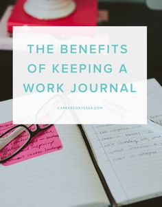 Journaling is a great way to keep your goals aligned, your thoughts organized, and your wins documented. Here's why we think a work journal is a key to success. Career advice for women, Best careers for women, Career tips for women Career Success, Career Goals, Career Advice, Career Planning, Business Planning, Work Journal, Journal Prompts, Journals, Daily Journal
