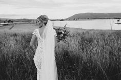 HAYLEY &  MARC | Hello May | Violet by Rue De Seine | Available at The Bridal Atelier || www.thebridalatelier.com.au (instagram: @thebridalatelier)
