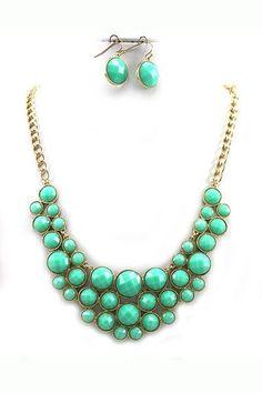 Bauble Mint Necklace