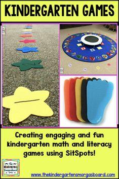 Kindergarten Games With Sit Spots