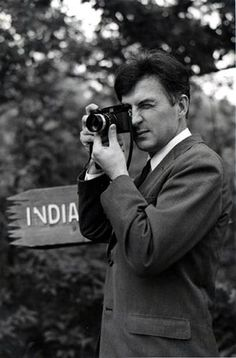 """Ernst Haas by Henri Cartier-Bresson 