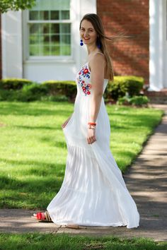 For the love of glitter, embroidered maxi dress.| trendy outfits | | lovely looks | | dresses for teens | | outfits for teens | | fashion |#trendyoutfits #trendy dresseshttps://www.loveandspring.com/