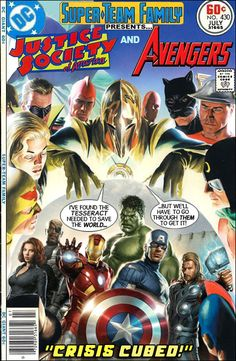 Justice Society of America and The Avengers