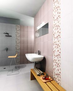 Obklady a dlažby v kombinaci s elegantními květinovými dekory série Living jsou ideální nejden do koupelny. #keramikasoukup #koupelnyodsoukupa #living #bathroom #simple #basic #inspirace #home #koupelnyinspirace Bathtub, Bathroom, Standing Bath, Washroom, Bathtubs, Bath Tube, Full Bath, Bath, Bathrooms