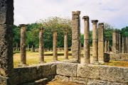 Olympia, site of the Olympic Games in ancient times. Ancient Greek Olympic Games, Ancient Olympics, Mykonos, Man City Live, Olympics Facts, Places Around The World, Around The Worlds, Olympia Greece, 2020 Summer Olympics
