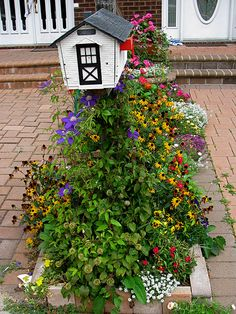 Mailbox Gardens Boost Curb Appeal: Mailbox Gardens Impart a Certain Charm to the Landscape