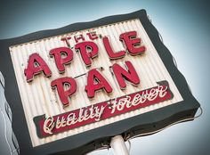 The Apple Pan | Flickr - Photo Sharing!
