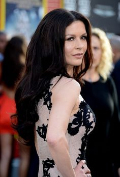 Catherine Zeta Jones. Lovely hair.