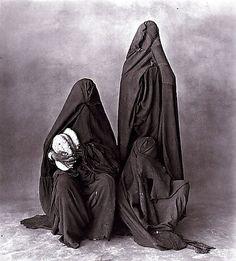 Three Rissani women, 1971 © Irving Penn via masters of photography