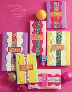 Cute decorating idea for presents especially  girl presents