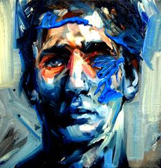 We are enjoying new oil paintings by Canadian-born, London-based painter Andrew Salgado this morning, a very classical artist who creates beautiful po. L'art Du Portrait, Abstract Portrait, Portraits, Graffiti, A Level Art, Abstract Painters, Canadian Artists, Painting Inspiration, Cool Art