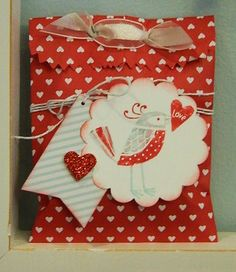 Sweetheart Treat Bags and Love You More Stamp Set from Stampin' UP!