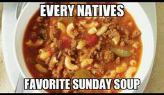 Mmm Hangover soup