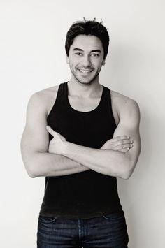 Gökhan Alkan, Turkish actor, b. Turkish Delight, Turkish Actors, My Crush, Healthy Desserts, Eye Candy, Tank Man, Beautiful Pictures, Type, Celebrities