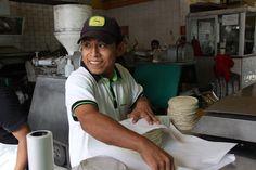 Making tortillas at La Gloria, in Puerto Vallarta Mexico. LatinFlyer.com | Latin America Travel Intelligence