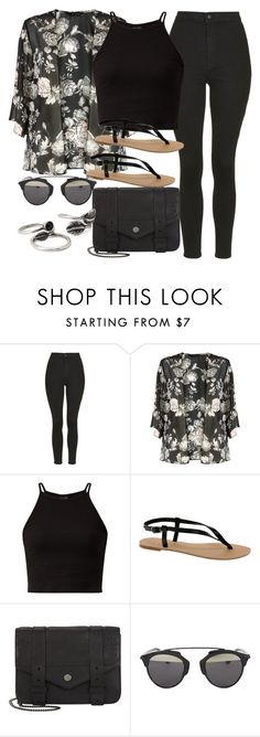 """Style #10053"" by vany-alvarado ❤ liked on Polyvore featuring Topshop, ASOS, Proenza Schouler, Christian Dior and Forever 21"