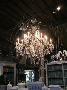way big chandelier