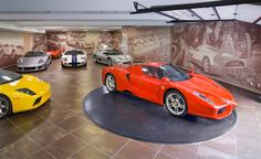 So you want to move house but where will you house your collection of cars? Not really a problem for us as we have two cars but for those in the fortunate position to have a lot more, here are some ideas for the ultimate addition to your house, a luxury garage!