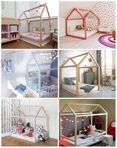 Como deve ser a cama montessoriana: A cama montessoriana deve ser baixa para a criança subir e descer dela sempre quando quiser. Isso dá autonomia e liberda