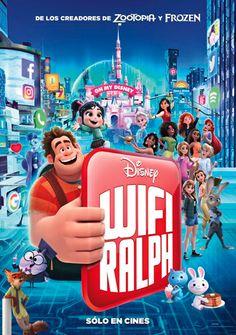 Ralph Breaks the Internet: Wreck-It Ralph 2 Argentinian movie poster Disney Art, Disney Movies, Disney Pixar, Movies To Watch, Good Movies, Venom Film, Disney Parque, Movie Guide, Internet Movies
