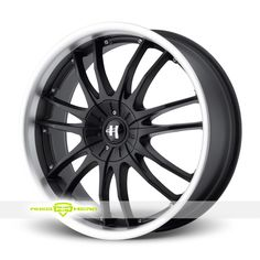 Helo HE845 Black Wheels For Sale - For more info: http://www.wheelhero.com/customwheels/Helo/HE845-Black
