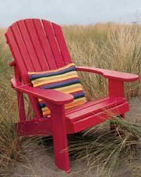 Adirondack Chair Painted By Gardenfurnituremill On Etsy 160 00