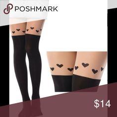 🎀💝 Pantyhose 💝 🎀 ❗️ ❗️ ❗️ 🌹 Fashion Printed Cute Silk Nylon + Spandex Stockings 🌹 ❗️ ❗️ ❗️ Accessories Hosiery & Socks