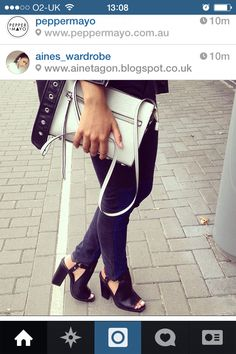 H&m bag by Ainsley fblogger