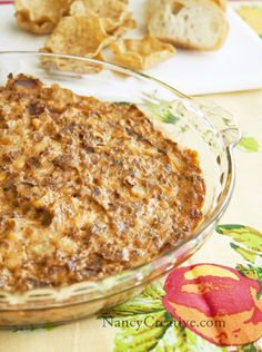 Bacon Cheeseburger Dip...a great football game snack! When you don't want the typical burger, make it a dip!