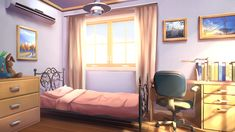 background living scenery anime bedroom episode interior drawing animation backgrounds interactive