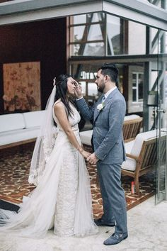 Intimate first look moments | Image by Magical Flute Photo and Video Anniversary Photos, Couple Portraits, Wedding Blog, Engagement Photos, Paradise, In This Moment, Photo And Video, Elegant, Couples