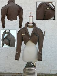One of my favorite Steampunk Jackets. Fits my concept of the style