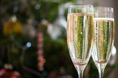 Festive fizz ... prosecco has overtaken champagne in the UK.
