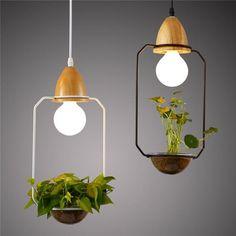 DIY Creative Elegant Plant Ceiling Lamp PL483 – Cheerhuzz
