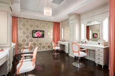 Lacina Heitler Architects #architecture #interior_design #blushington #salon #pink