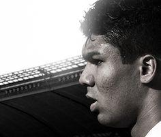 CASEMIRO ......................... Born: February 23, 1992 (age 21), São José dos Campos, Brazil, São Paulo Height: 1.84 m Weight: 80 kg Teams: Brazil national football team (Midfielder), Real Madrid Castilla (#18 / Midfielder)