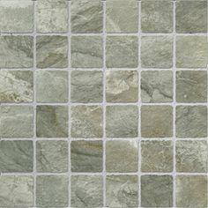 Primitive Gray Mosaic 2x2