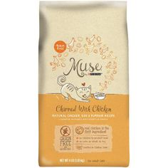 Muse® Adult Cat Food - Grain Free, Gluten Free, Essential Nutrients, Natural Chicken, Egg & Pumpkin at PetSmart. Shop all cat dry food online Canned Cat Food, Dry Cat Food, Pet Food, Yogurt Recipes, Dog Food Recipes, Salmon Eggs, Grain Foods, Cat Feeding, Chicken Eggs