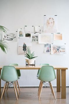 14 white frame shot gallery wall - Shelterness