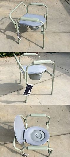 Toilet Frames and Commodes: Commode Chair Stationary W Fixed Arms 350 Lbs Capacity. Brand New Chair. -> BUY IT NOW ONLY: $79.99 on eBay!
