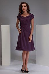Absolutely stunning sweetheart neckline, side wrap with embellishment  modest bridesmaid dress.  www.aformalchoice.com