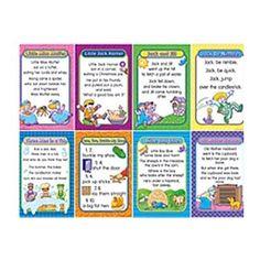 Teacher Created Resources Bb Set Nursery Rhymes Set 2